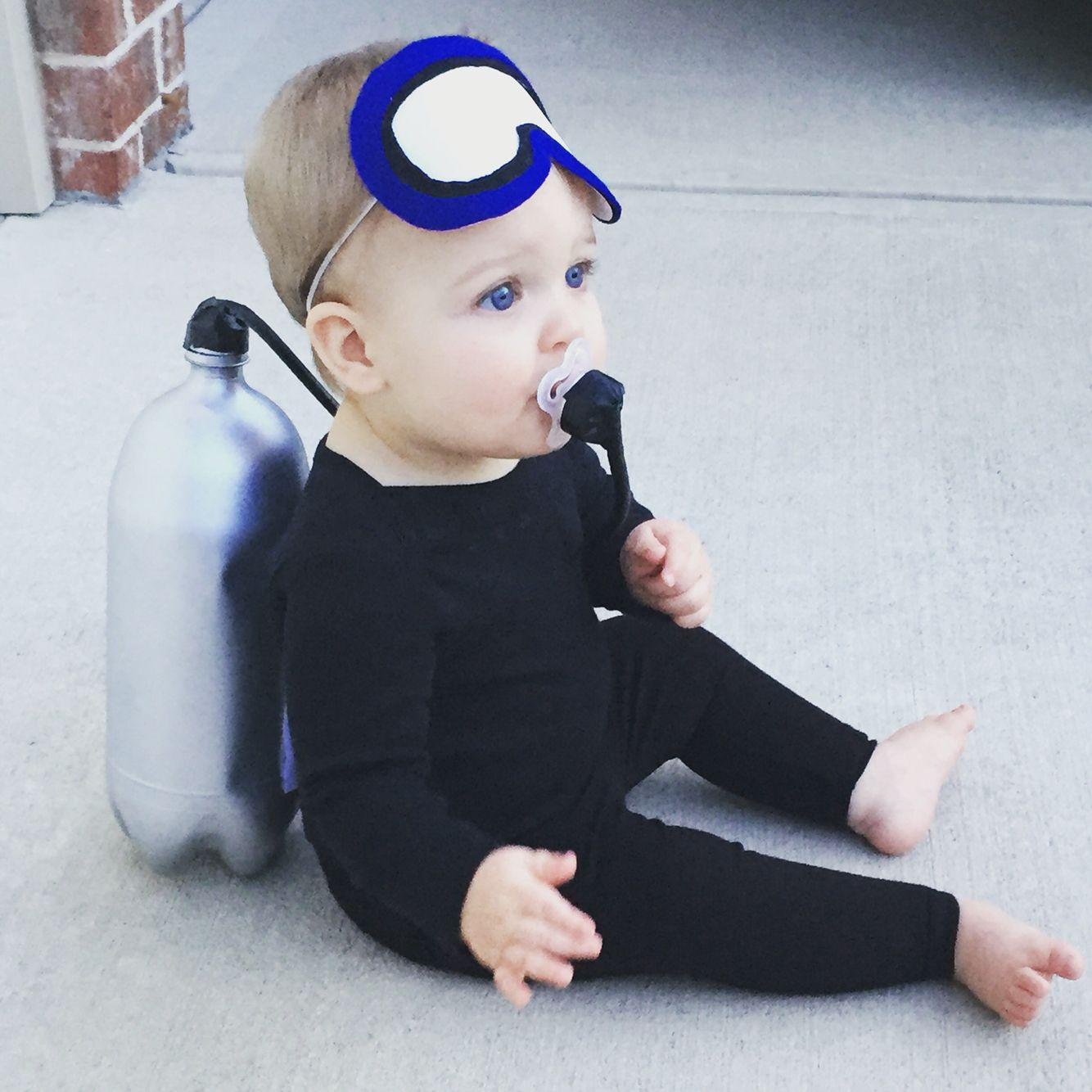 baby scuba diver halloween costume | fall/halloween | pinterest