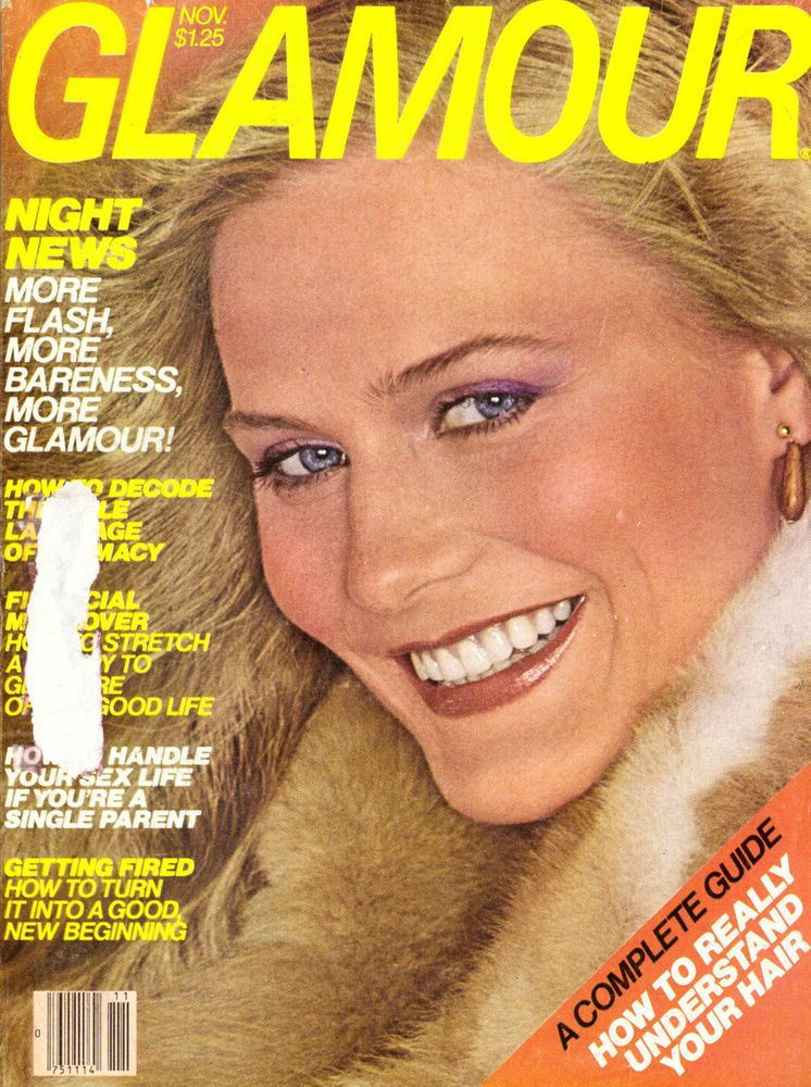 1978 Glamour Magazine Maarit Halinen Jewelry Skiing Carol Bellamy Vintage 70s #Vogue