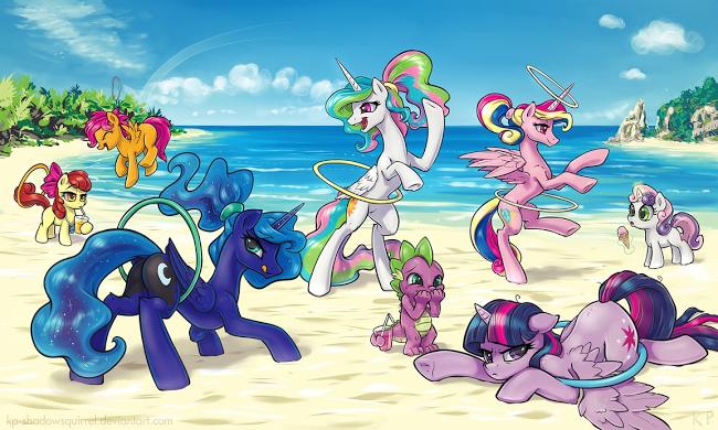 Equestria Daily: Drawfriend Stuff #1508 - To the BEACH!
