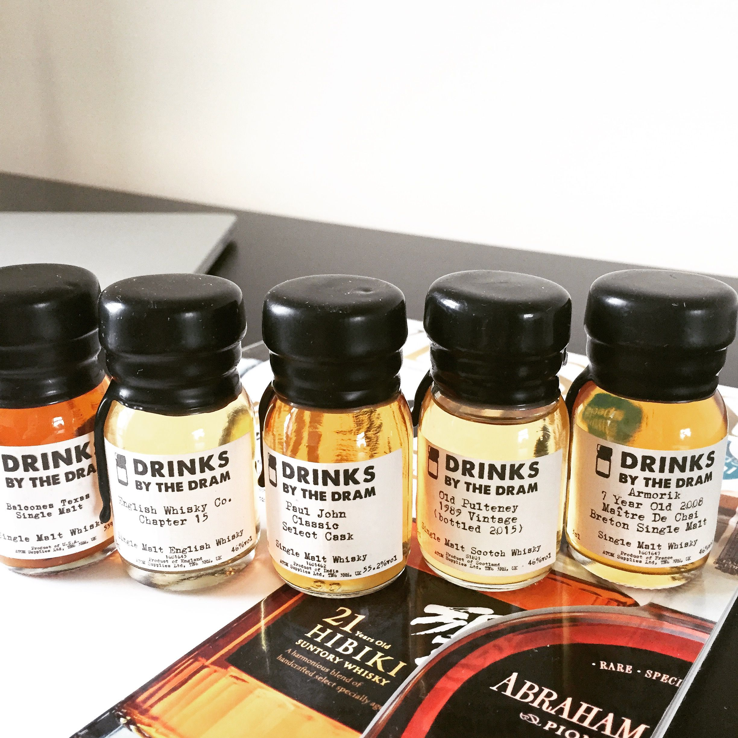 Single Malt Whiskey Award Winners 2016 (With images