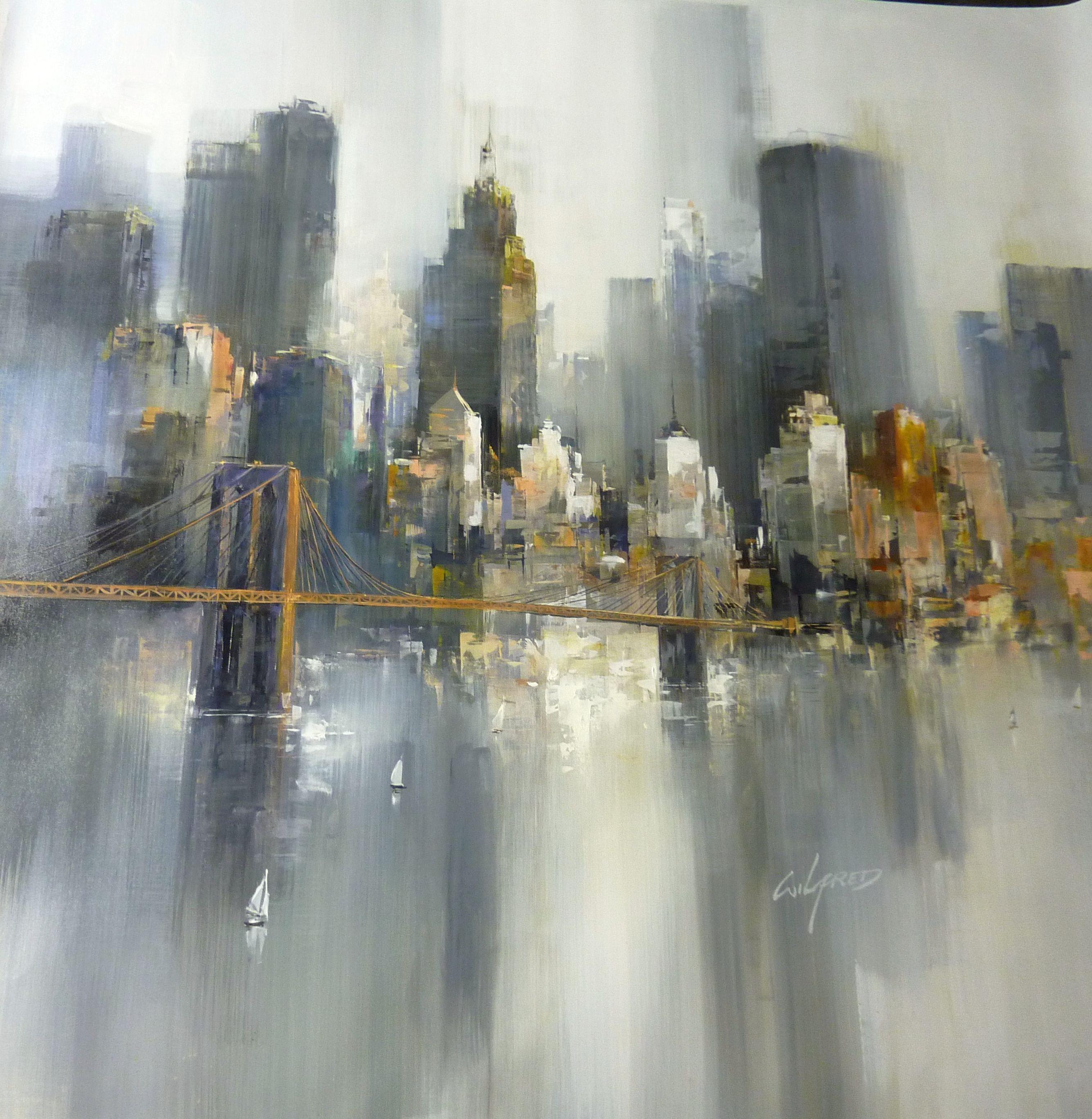 New York, artist WILFRED , | My art | Pinterest | Paintings ...