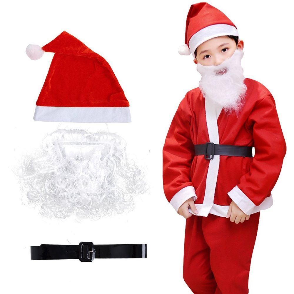 Christmas Santa Costume Set for Kids Boys pcs Christmas Costume