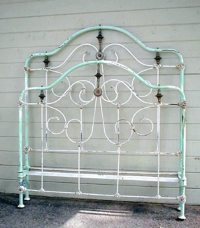 Antique Metal Beds Sale Wrought Iron Twin Bed Antique Wrought Iron