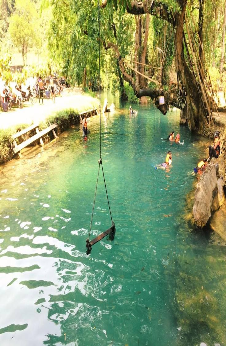 Complete Guide To The Blue Lagoon Vang Vieng Laos Blue Lagoon Asia Travel Laos
