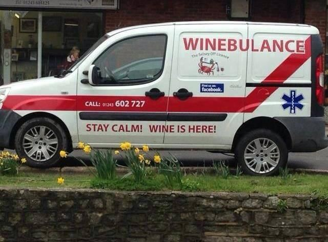 Stand fast, help is on the way   MT @Fritz6647 #wine @WinebulanceUK @WinebulanceHQ @TheWinebulance @Winebulance