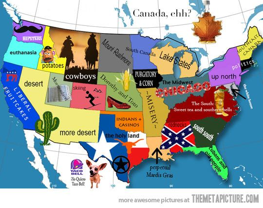 Funny Usa Maps Wiring Free Printable Images World Maps - Fun map of the us