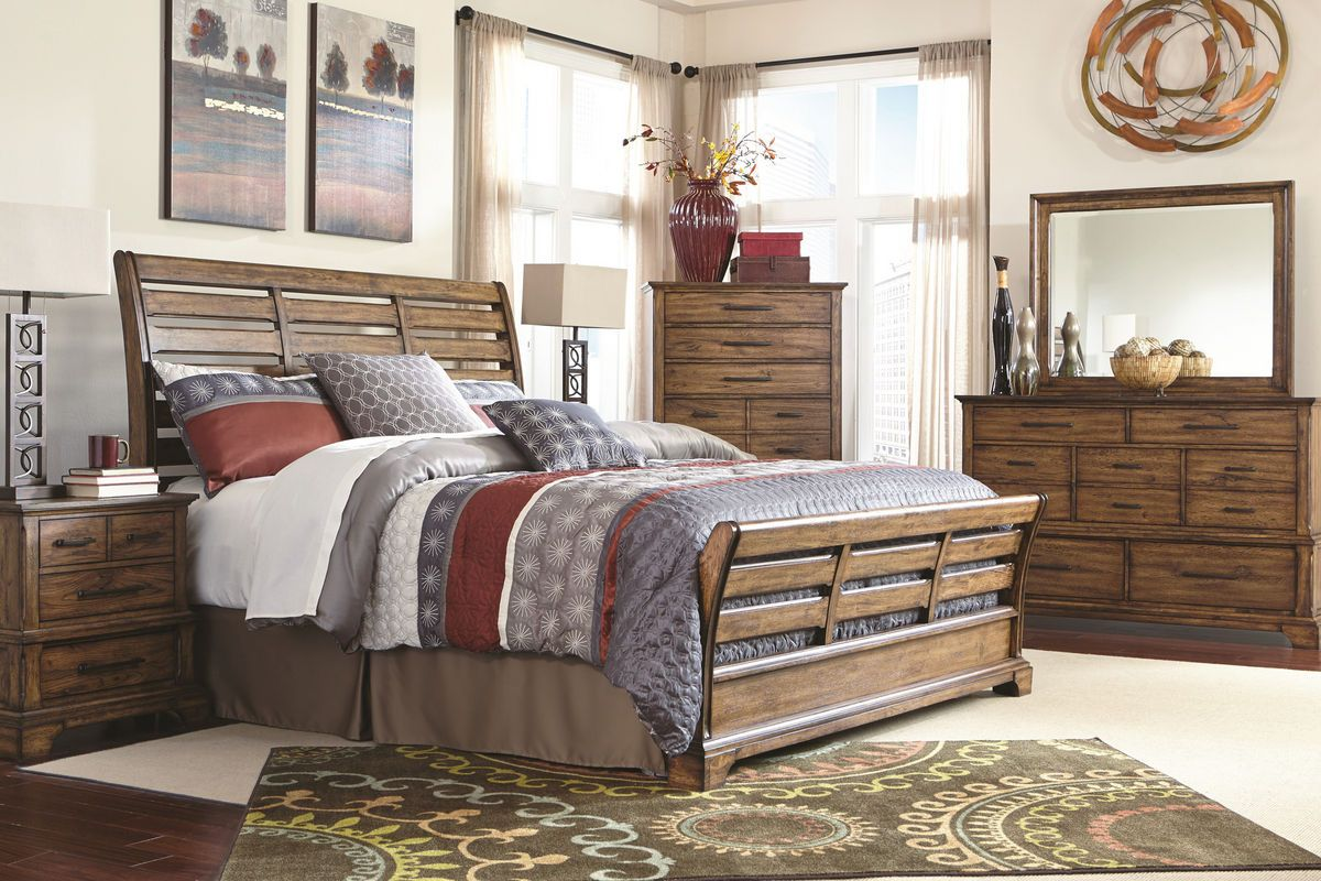 Mitchell from GardnerWhite Furniture King bedroom sets