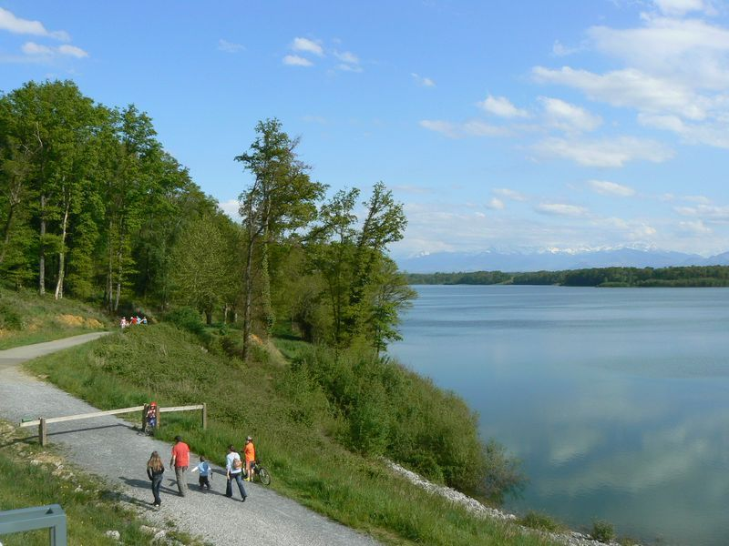 Lac du Gabas près de Morlaas