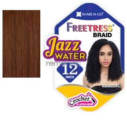"""Freetress Jazz Water 12"""" - Color 30 - Synthetic Braiding"""