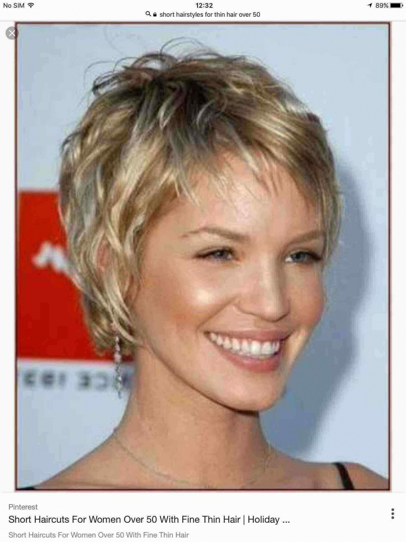 Hairstyle Round Face Over 50 Brunette Short Thin Hair Short Hairstyles Fine Thick Hair Styles