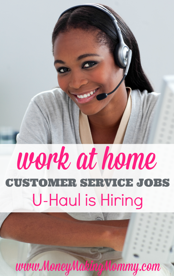 U Haul Offers Work At Home Jobs Full Time And Part Time Business