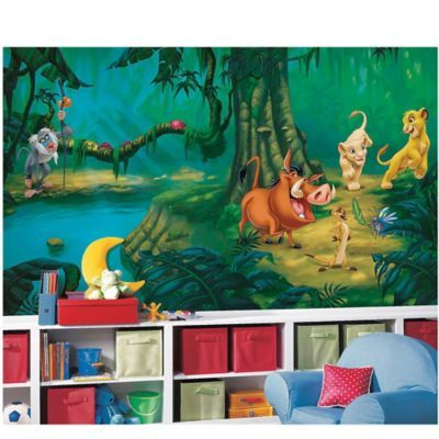 Disney® Lion King Chair Rail Prepasted 10.5-Foot x 6-Foot Mural - BedBathandBeyond.com