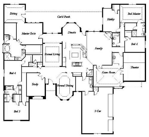 Manchester Homes The Rockport Floor Plan Floor Plans Manchester Home Custom Home Plans