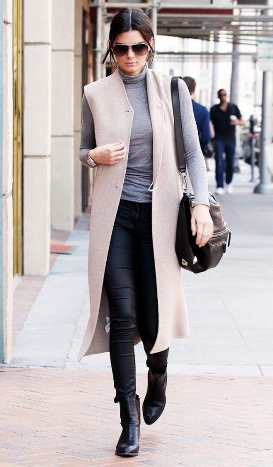 Vest And Turtleneck Top 2017 Street Style Fashion Trends 2017 Pinterest Street Style