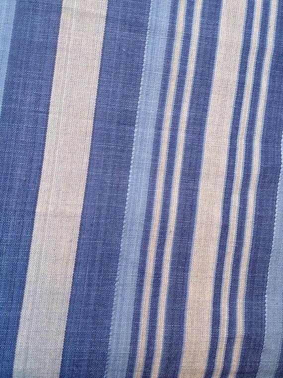 Ralph Lauren Bali coast stripe sea sold by the yard retails 126 a yard