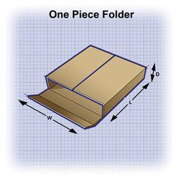 Corrugated Box styles: OPF - One Piece Folder