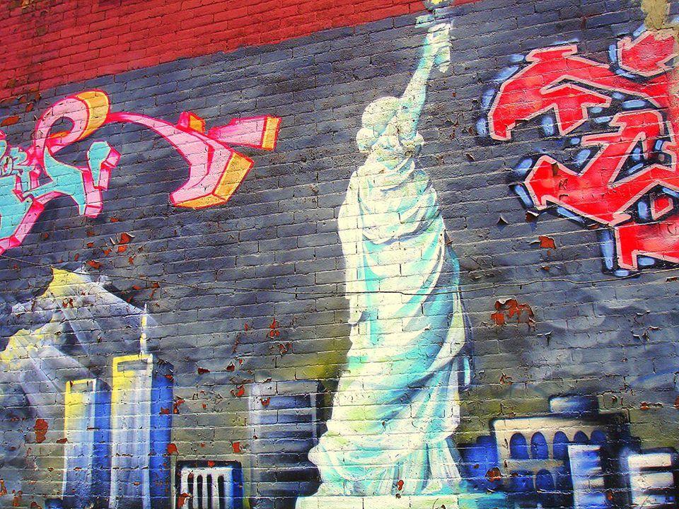 Graffiti inspired by New York