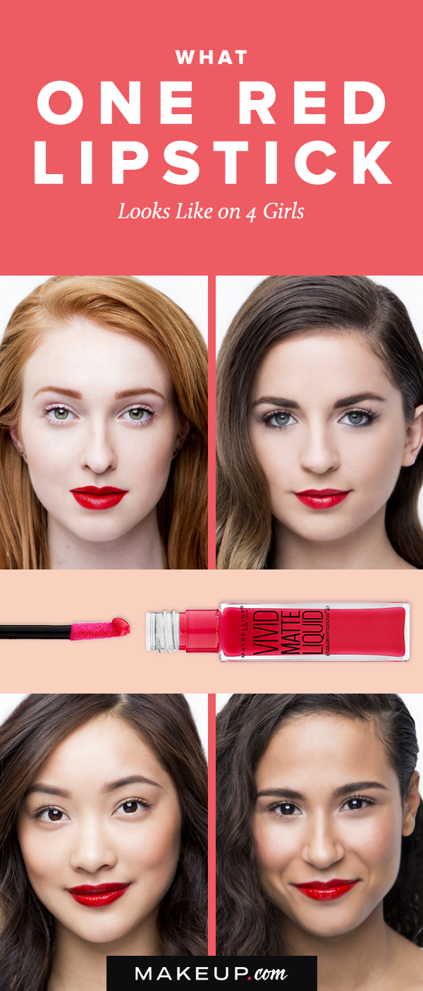 The Red Lipstick Shade That Looks Amazing on Every Skin ...