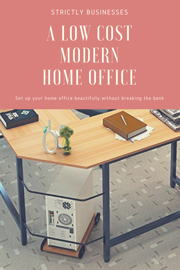 Low Cost Modern Home Office Setup For Your Home Office