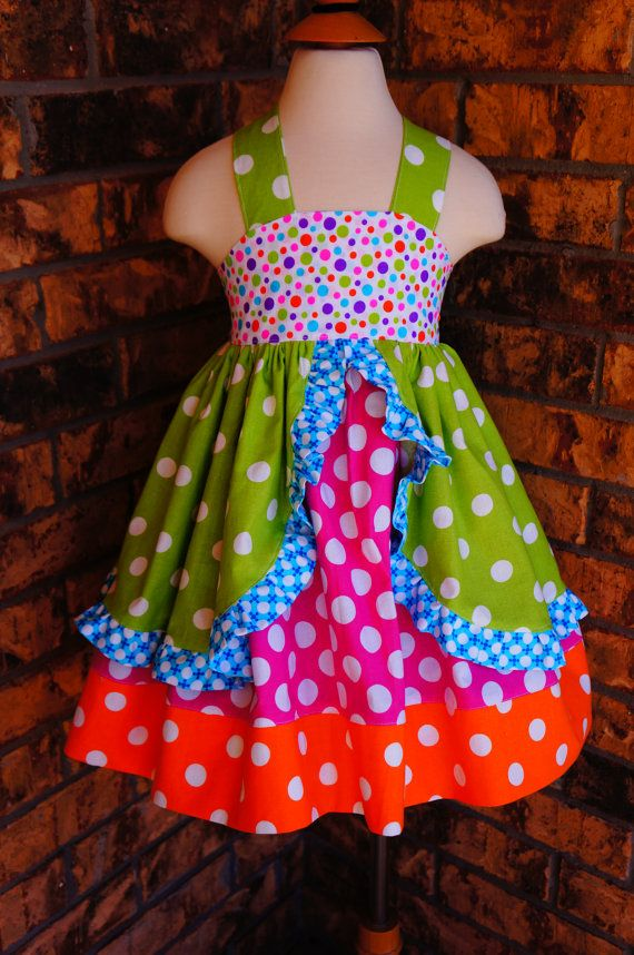 Boutique Girls Birthday Outfit Custom Children\'s Clothing Extra ...