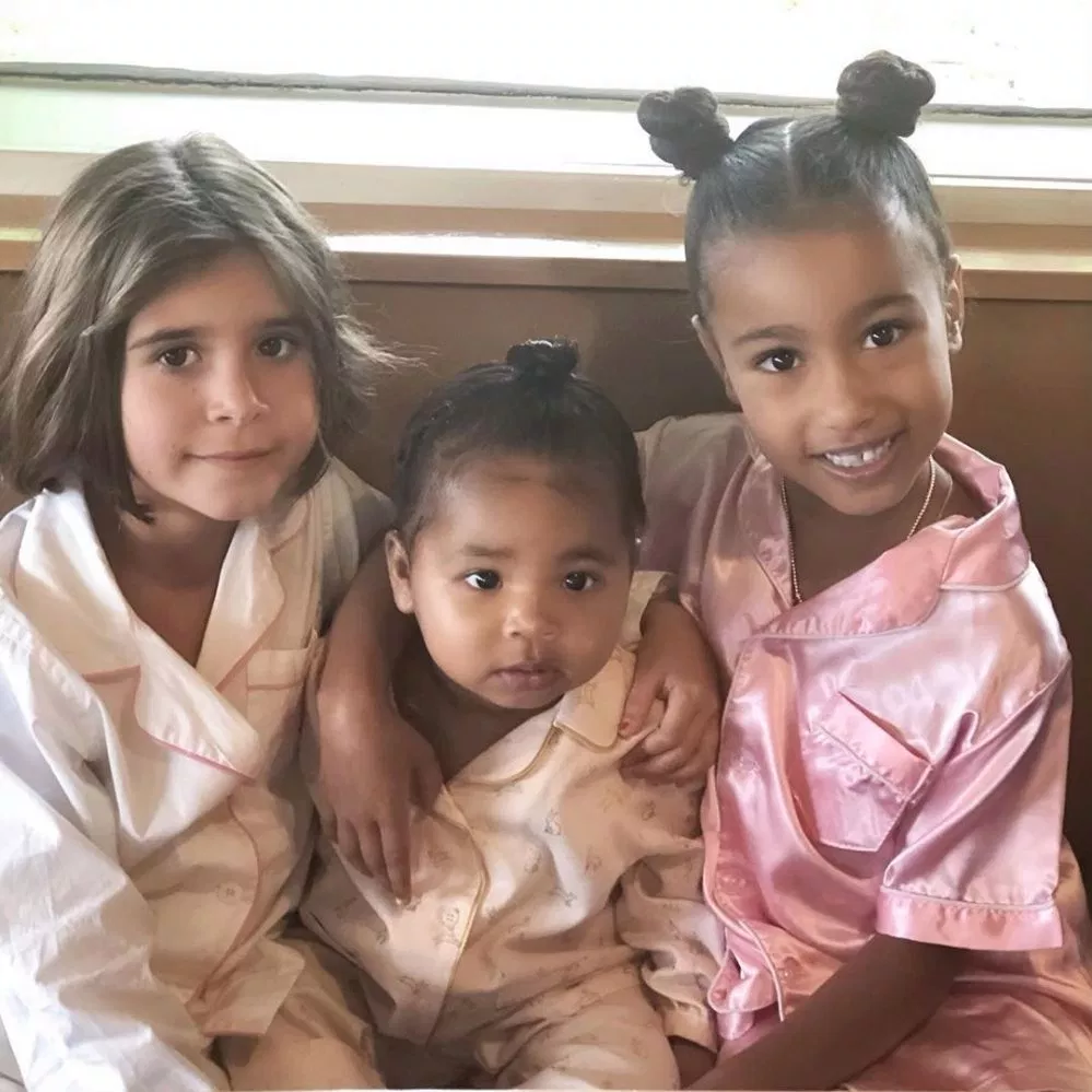 Girl Gang Inside Penelope Disick S Ihop Party With North True And More With Images Kardashian Kids Penelope Disick Khloe Kardashian