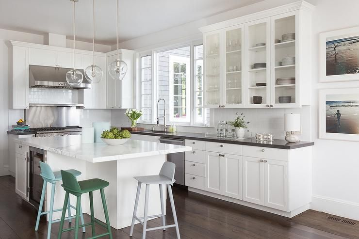david duncan livingston photography photographs an l shaped kitchen with a whit contemporary on l kitchen interior modern id=94979