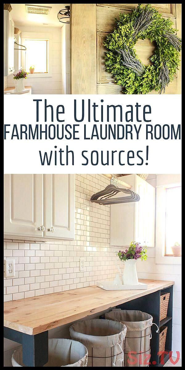 One Room Challenge Farmhouse Laundry Room Reveal One Room Challenge Farmhouse Laundry Room Reveal Bessie Juarez Save Images Bessie Juarez Discover more info onlaundry roo...