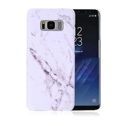 For Samsung S7 S8 S8 Plus Cases Luxury Marble Hard Classic Style Full Modlilj Phone Cases Protective Stone Case Samsung