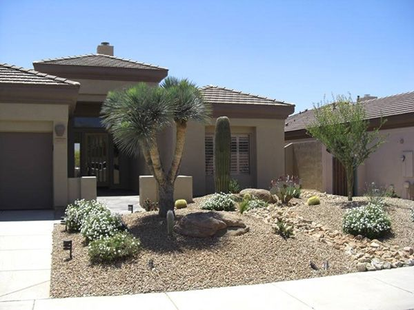 Landscape Rock Garden Desert Landscaping Designs Ideas For Small