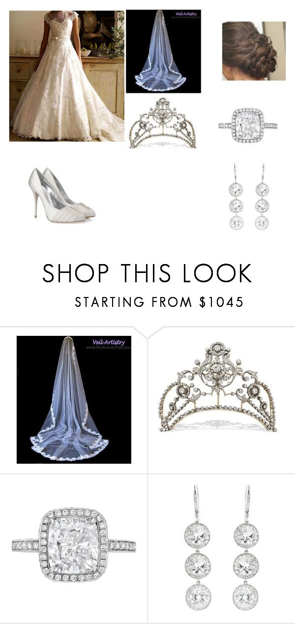 """""""Wedding Day"""" by kleinnicole ❤ liked on Polyvore featuring Andrea Fohrman and Giuseppe Zanotti"""