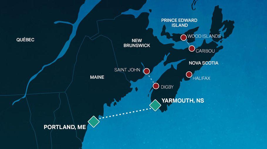 Ferry To Nova Scotia Bay Ferries Map Pinterest Nova - Us navy map mahone bay ns