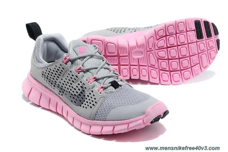 Nike Free Powerlines Ii Women Running Shoes Grey