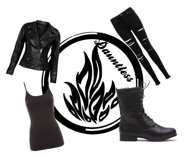 """""""Dauntless"""" by magick13 ❤ liked on Polyvore featuring VIPARO, Jane Norman and Miss Selfridge"""