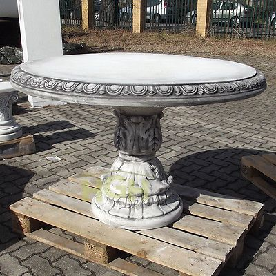 ... Details Zu Tisch Rund Gartentisch Garten Steinmobel Betontisch St Die  Besten ...