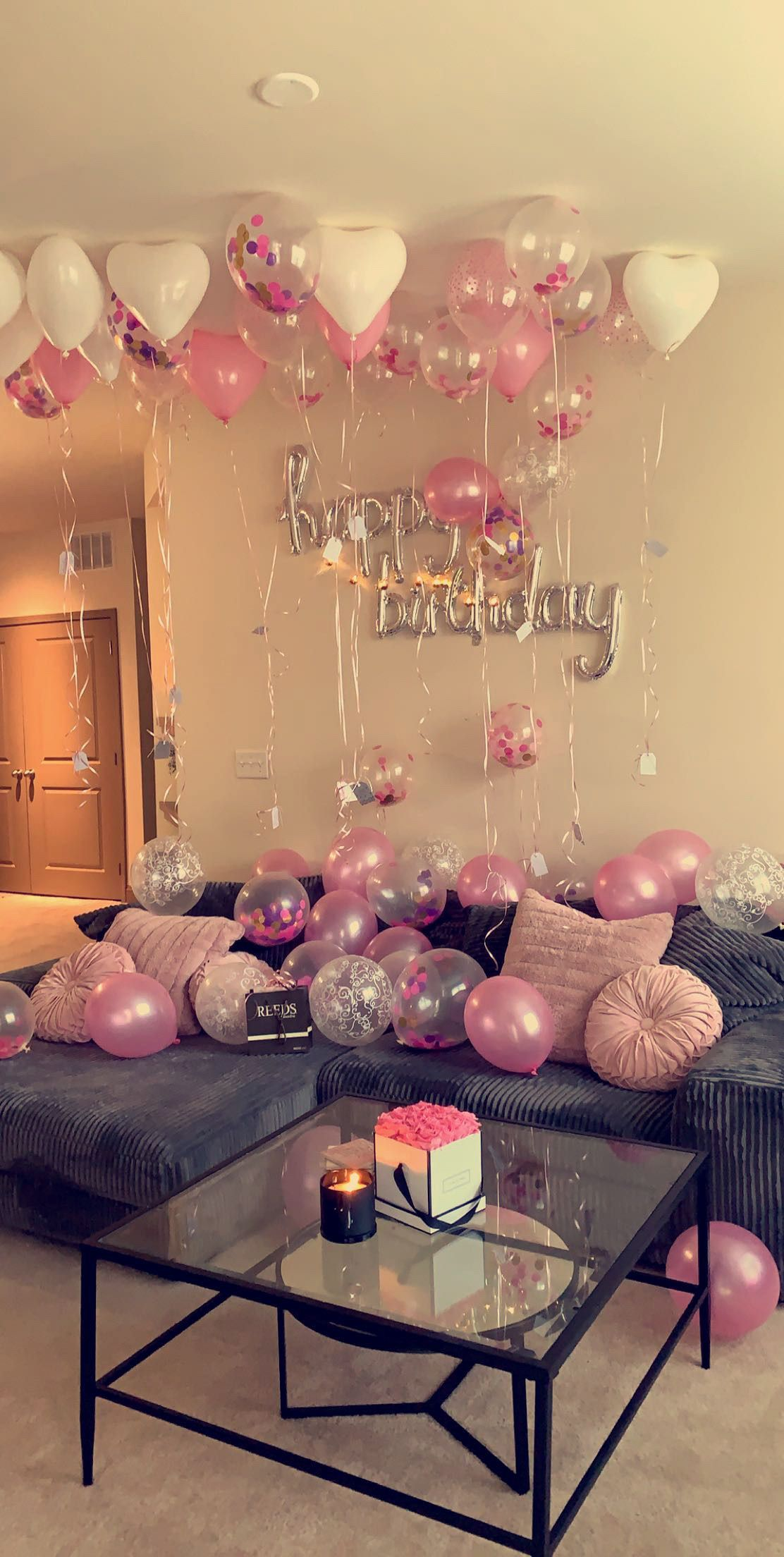 Birthday Balloons Decoration Birthday Balloon Decorations Simple Birthday Decorations Surprise Birthday Decorations