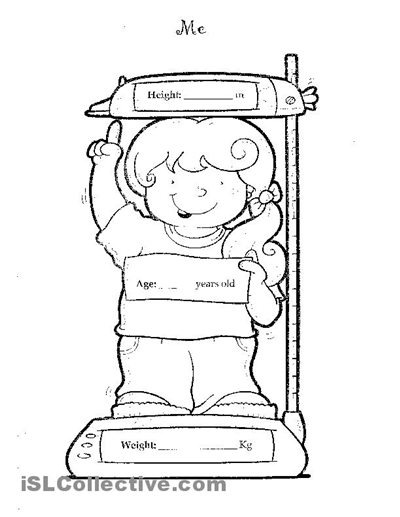 science Worksheets - preschool Worksheets - Body Parts Worksheets ...