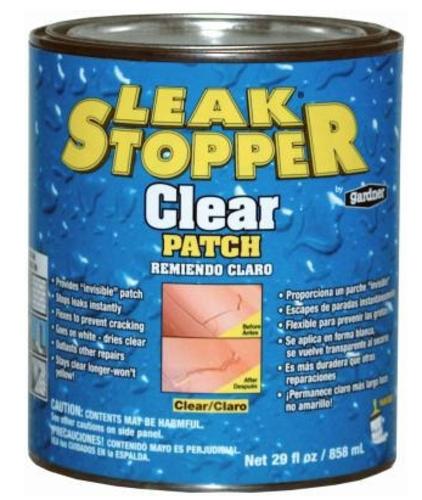 Best Leak Stopper 0338 Ga Rubberized Roof Patch 1 Quart In 400 x 300