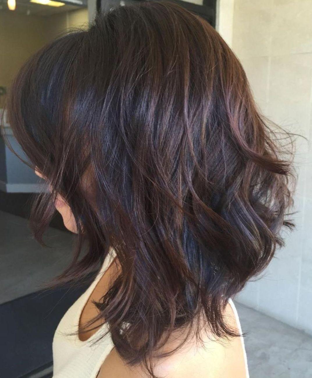 sensational medium length haircuts for thick hair in hair