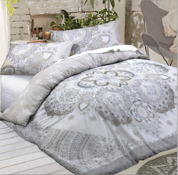Printed Duvet Quilt Cover Set And Matching Pillow Case