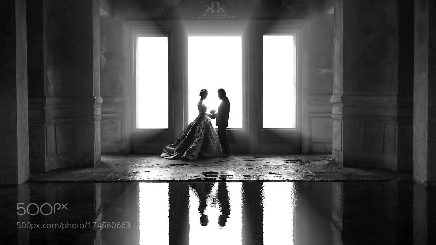 The rays of love by huudophoto