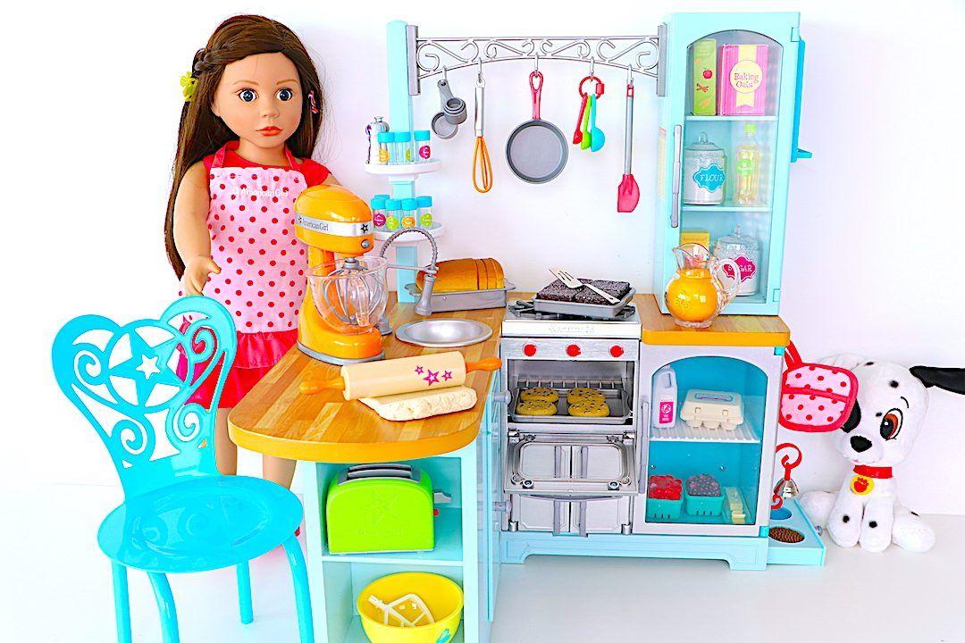 American Girl GOURMET KITCHEN baking mixing spatula NEW