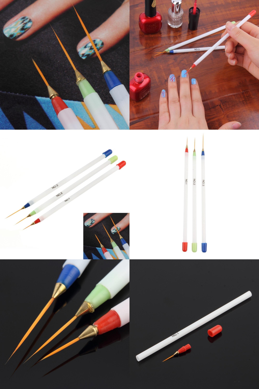 Visit To Buy 3pcsset Painting Striping Nail Polish Uv Gel Pen Nail