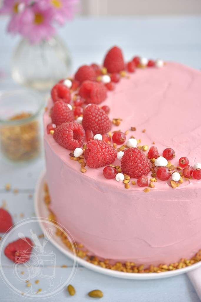 Cake  Ef Bf Bd La Framboise Marmiton