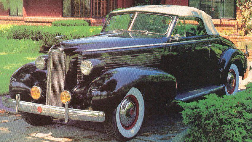 1937 LaSalle convertible | Lasalle, Veteran car, Classic cars