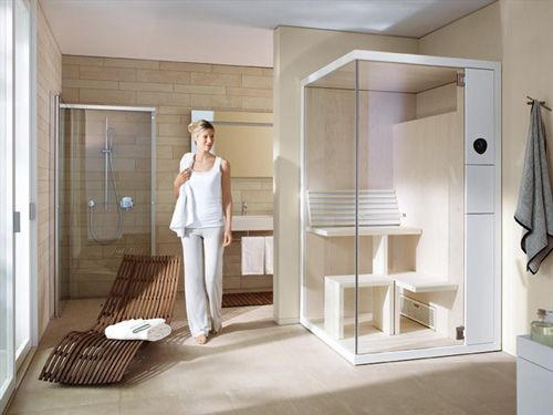 Super Compact Sauna By Duravit Inipi B Bathe Away Pinterest - Cabina-sauna