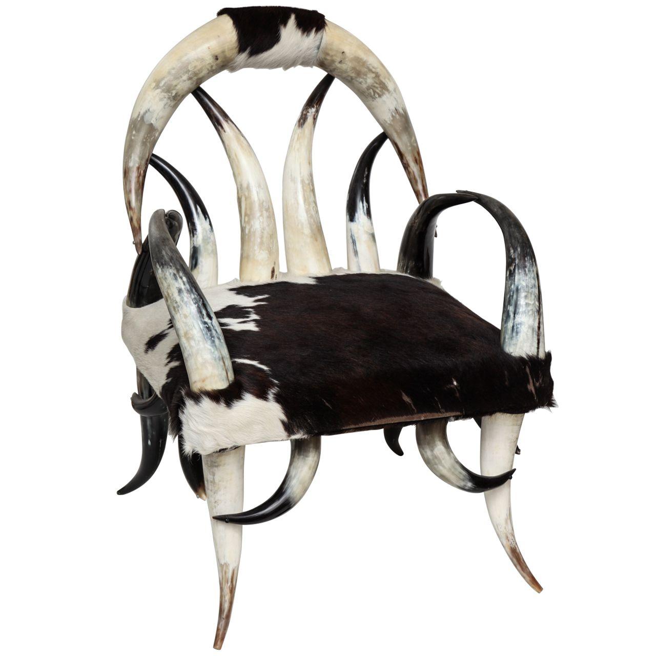 Astonishing Cow Horn Club Chair In 2019 Cow Horns Club Chairs Chair Alphanode Cool Chair Designs And Ideas Alphanodeonline