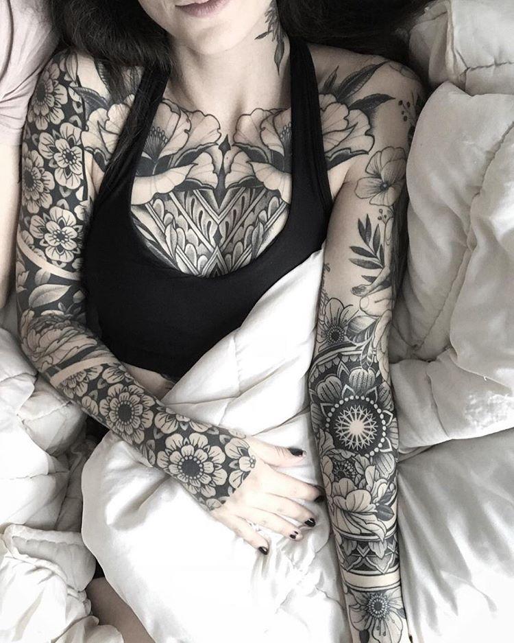 Blackwork Inspiration Inkstinct Full Body Tattoo Cuff Tattoo Tattoos