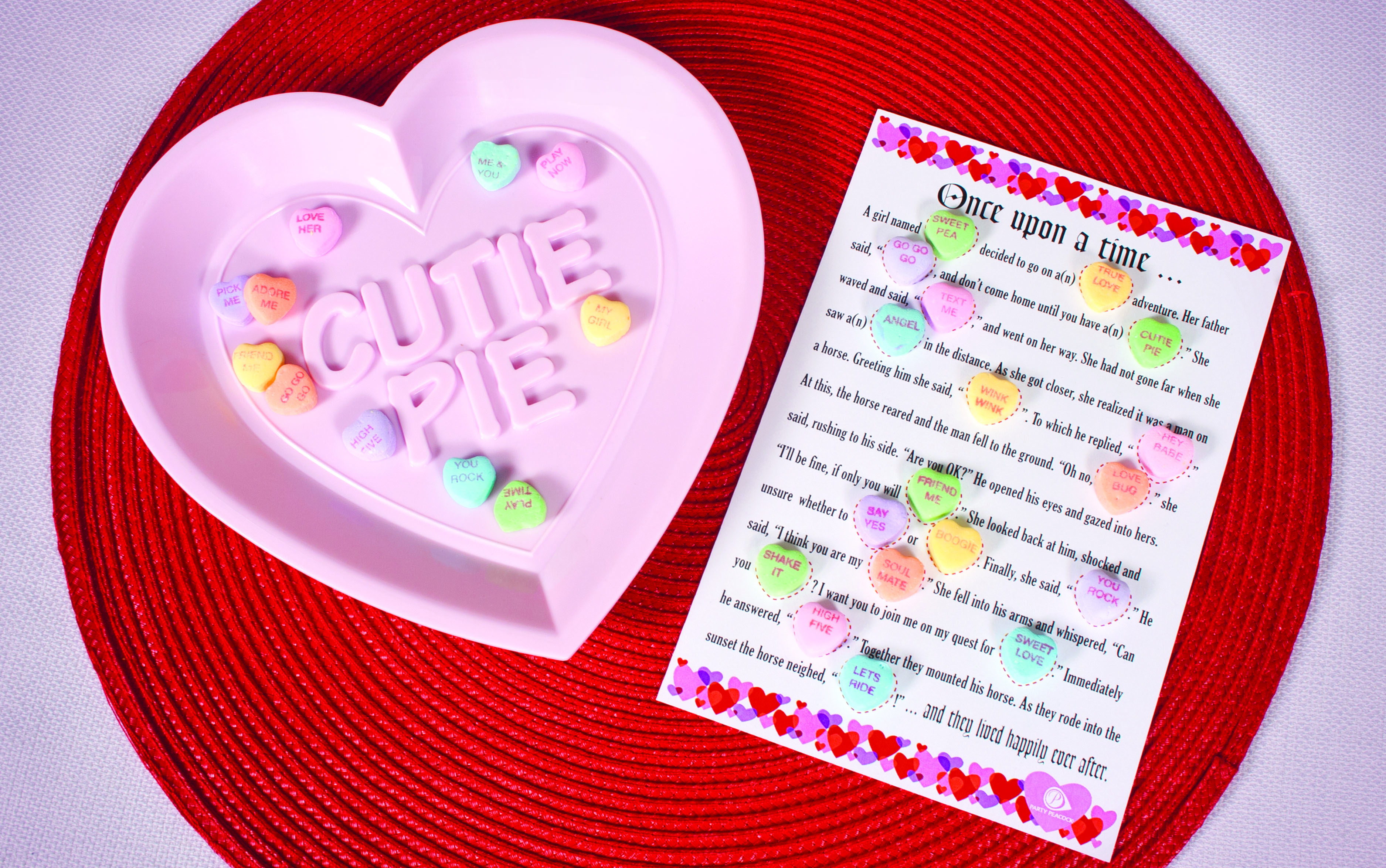 Valentine S Day Party Idea Fill In The Blank Word Game