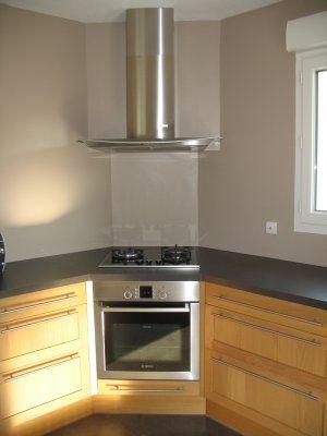 Cuisine ikea tidaholm r alisation caisson angle pour - Poser une plaque de cuisson sur un meuble ...
