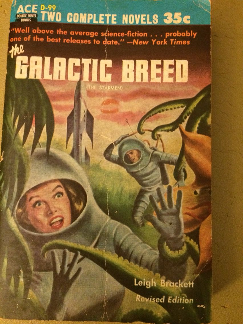 the duplicated man by james blish robert lowndes sci fi books the galactic breed by leigh brackett